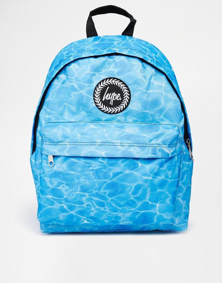 Hype+Backpack+in+Pool+Print