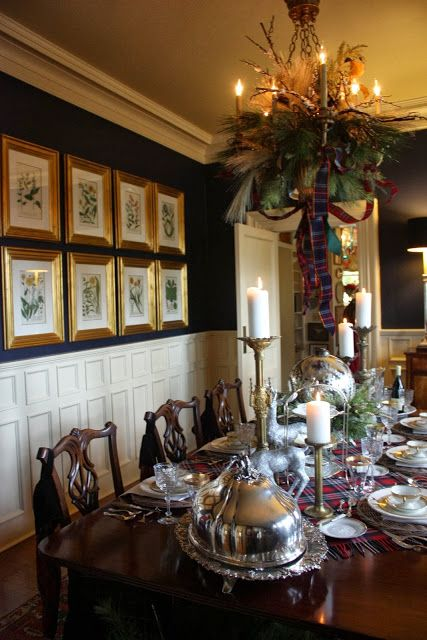 Simple Pleasures: Mary Carol Garrity's Christmas Open House 2013 Part 3,  the Dining Room