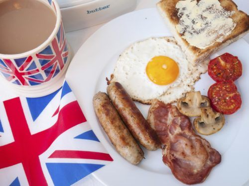 Ask Your Esl Students What Comes To Mind When They Think Of England The Responses Will Inevitably Include Football Soccer Food Food Issues British Breakfast