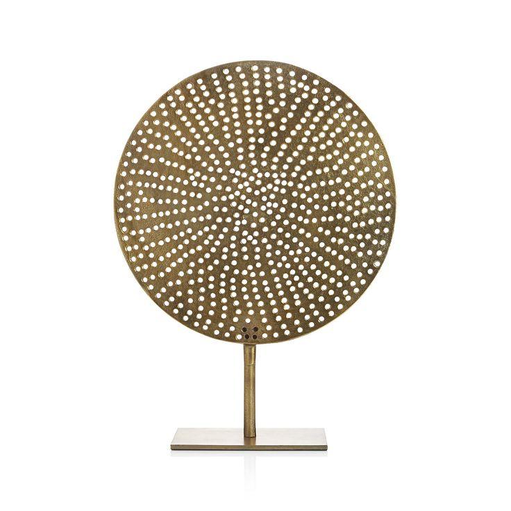 Accesorios- Figura decorativa Crate & Barrell Mod.224100 - Círculo de Latón con Base Precio $1,809 c/u