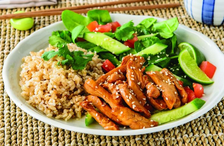 Sticky Sesame Lime and Soy Shredded Chicken
