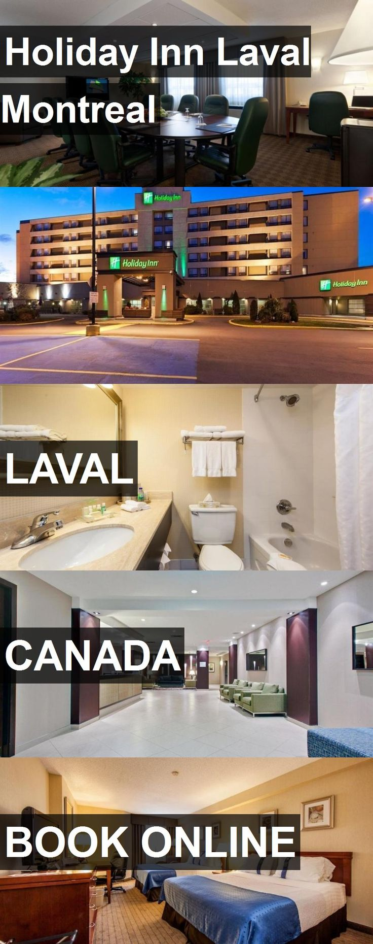 Hotel Holiday Inn Laval Montreal in Laval, Canada. For more information, photos, reviews and best prices please follow the link. #Canada #Laval #hotel #travel #vacation