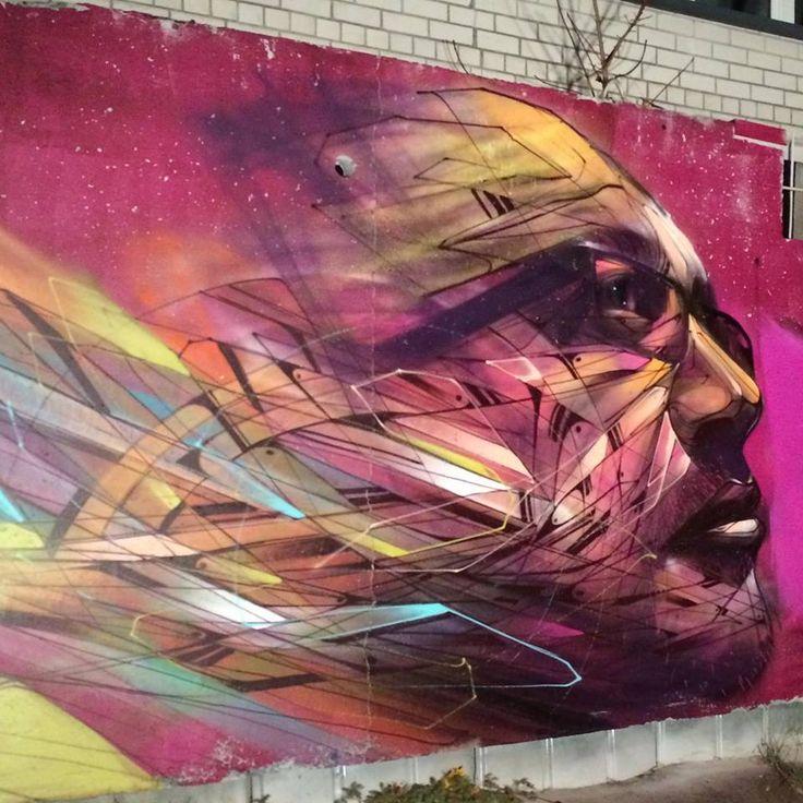 Artist: Hopare #streetart jd