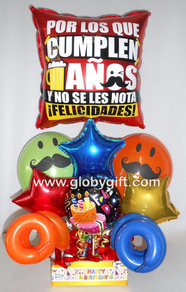 arreglos de globos para hombres - Buscar con Google