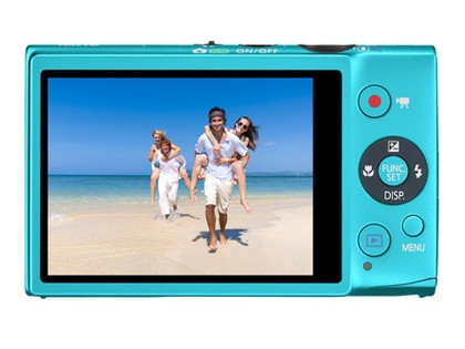 The Canon IXUS 125 HS is a 16.1MP snapper with face detection and 5x optical zoom.
