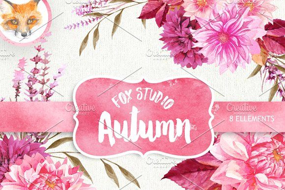 Hello, Autumn. by Fox_studio on @creativemarket