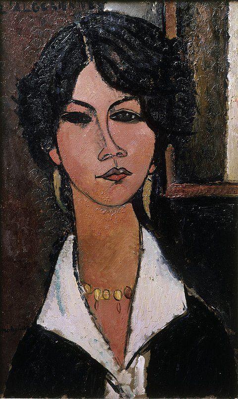 Amadeo Modigliani, l'Algérienne, 1917