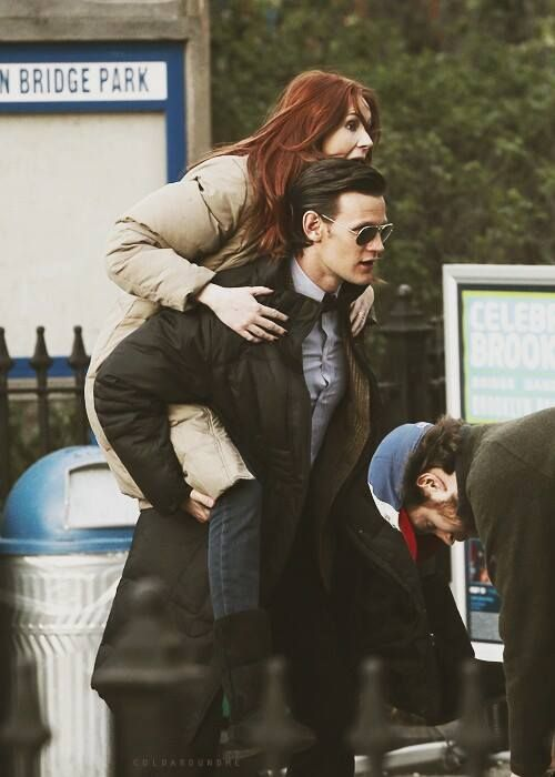 Doctor Who/ Karen Gillan & Matt Smith