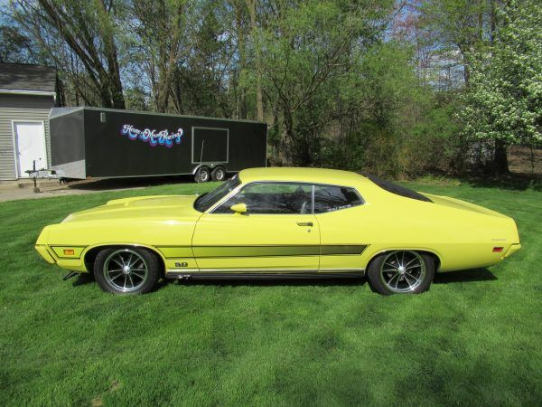 1971 Ford Torino Gt Convertible Fordclassiccars With Images