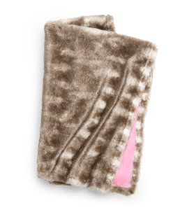 Fake fur blanket