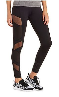 Wouldn't agree with them all, but still some great options. Didn't even know Charlotte Russe sold exercise clothes! | Where to Find Cute and Affordable Workout Clothes