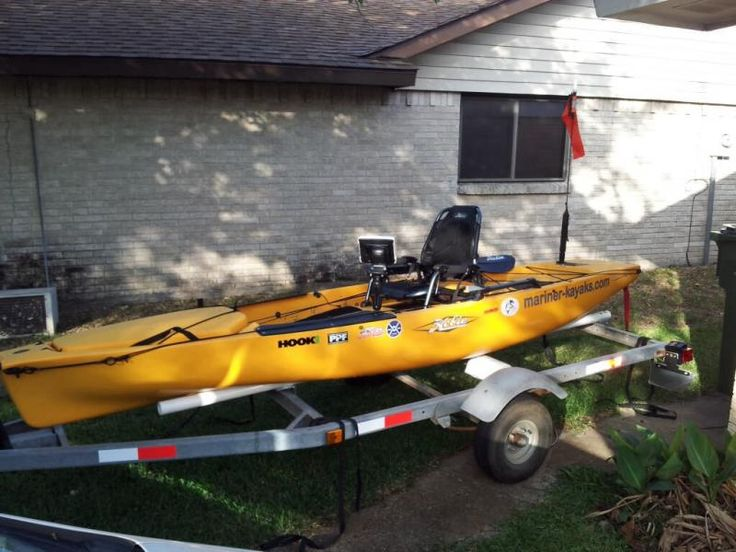 25 best ideas about boat trailer on pinterest boat for Used fish finders craigslist