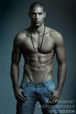 Willy Monfret, a beautiful man. I want to marry him.