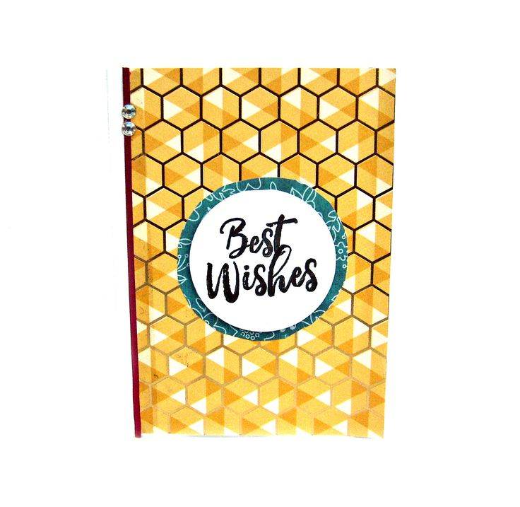 best wishes card, best wishes cards, birthday card, best wishes, thinking of you card, handmade greeting cards, good luck card, friend card by SunnySkyeCrochet on Etsy