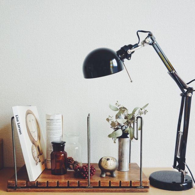 Igako7121さんの、薬莢,薬瓶,IKEA,リサラーソン,北欧,ドライフラワー,古道具,Bedroom,のお部屋写真