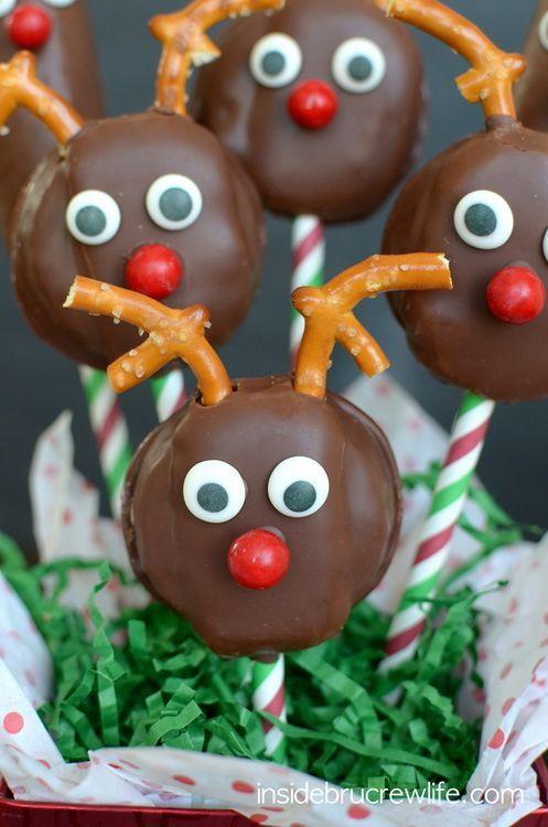Oreo Cake Pops Christmas