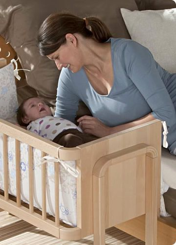 Geuther Co-Sleeping Bedside Cot Aladin
