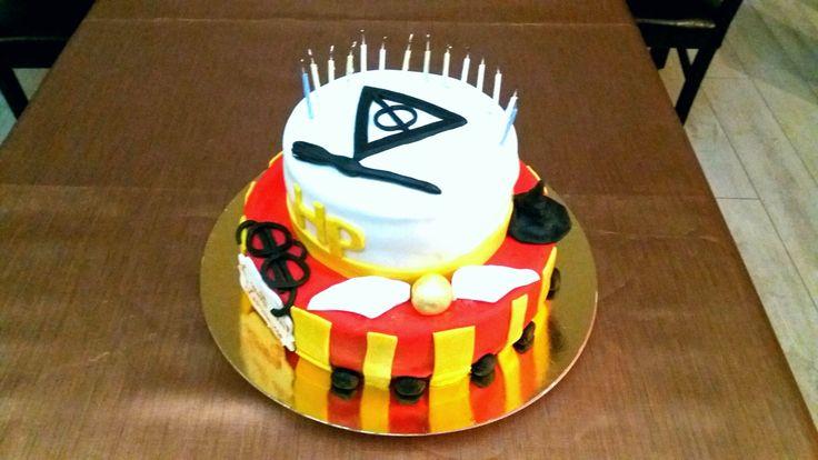 Harry Potter birthday cake!!!