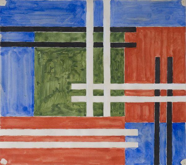 """""""Abstraction en couleurs"""", vers 1930-1935 de Kupka"""