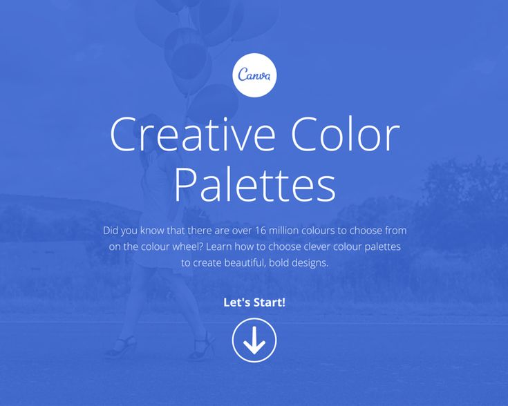 Creative Color Palettes Did you know that there are over 16 million colours to choose from on the colour wheel? Learn how to choose clever colour palettes to create beautiful, bold designs. Let's S...