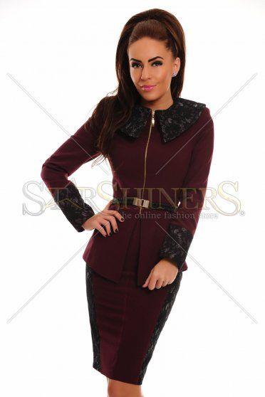 LaDonna Supreme Trend Burgundy Set