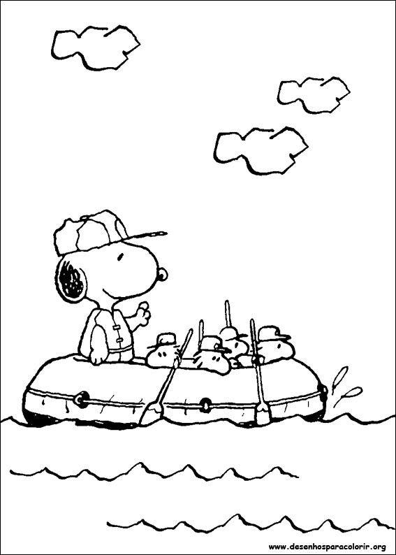 Desenhos do Snoopy para colorir - SHD - Seja Hoje Diferente ...