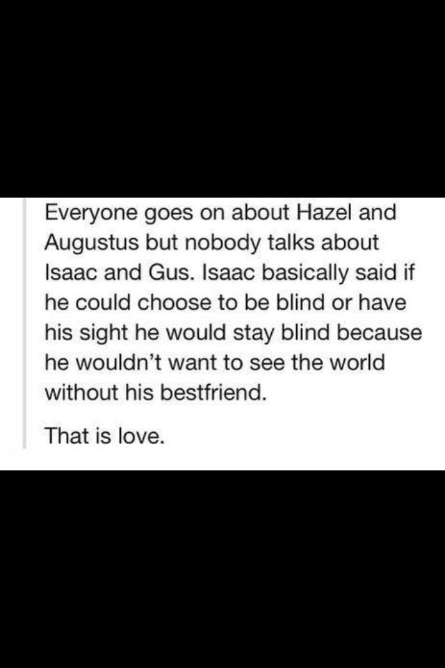The Fault in our Stars, I love Isaac and not just because Nat Wolff is playing him.