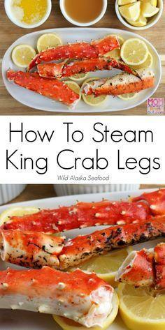 How To Steam Alaska King Crab Legs (Easy!) Recipe and Directions @alaskaseafood #AskForAlaska #IC AD