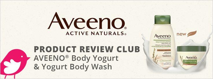 New Product Review Club Offer / Club des bancs d'essai : AVEENO® Yogurt Body Care