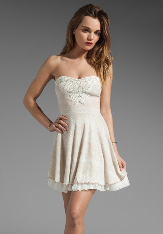 c74cca7a7f7 free people short white lace dress