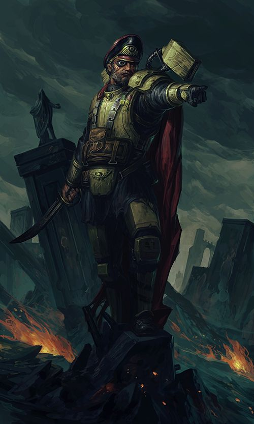 Imperial Guard Harakoni Warhawks Captain