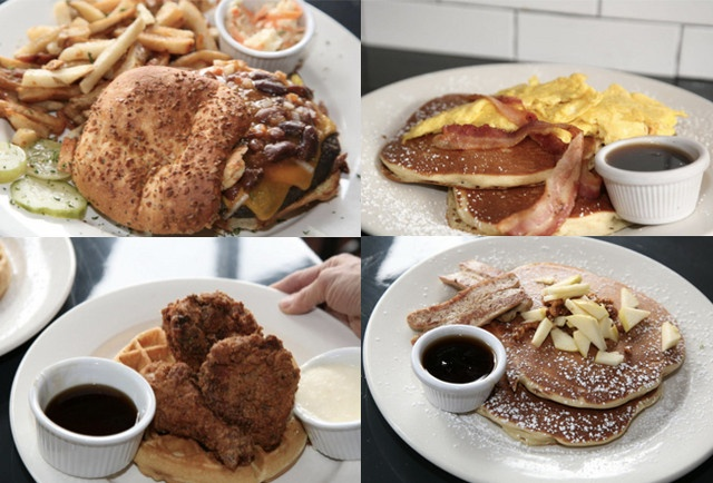 B.A.D. (Breakfast All Day) Burger   171 Ave A, between 10th & 11th