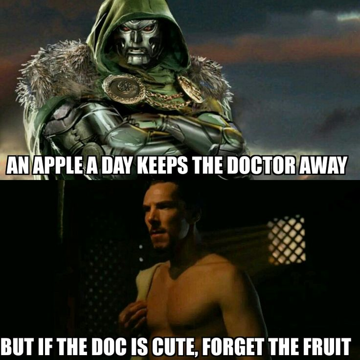 Doctor Doom vs Doctor Strange. I'm sorry, I couldn't resist... XD Meme by J. E. Miller
