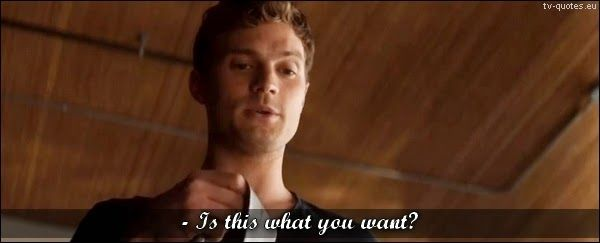 Fifty Shades of Grey - Quote - Is this what you want? - TV Quotes