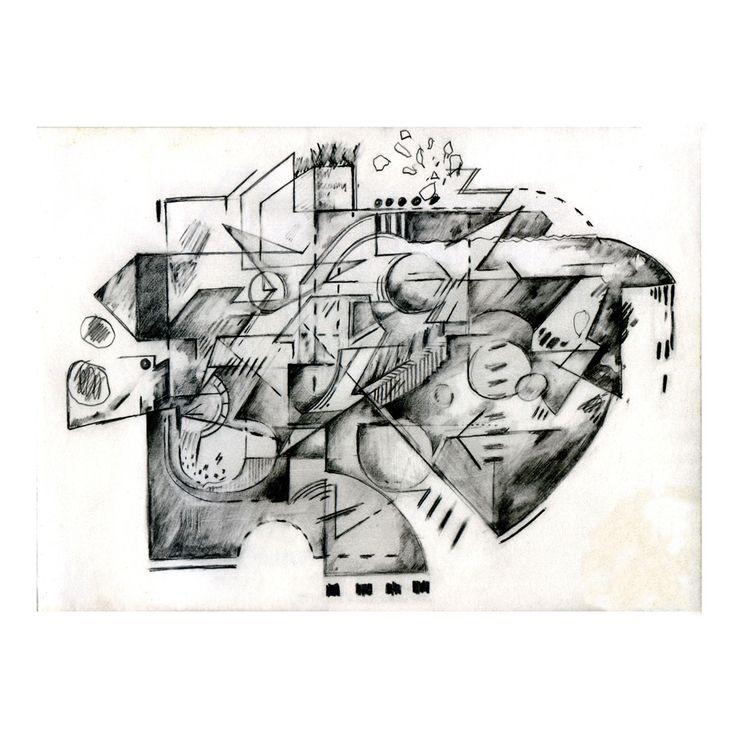 Penny Rimbaud Renaissance Drawing #2