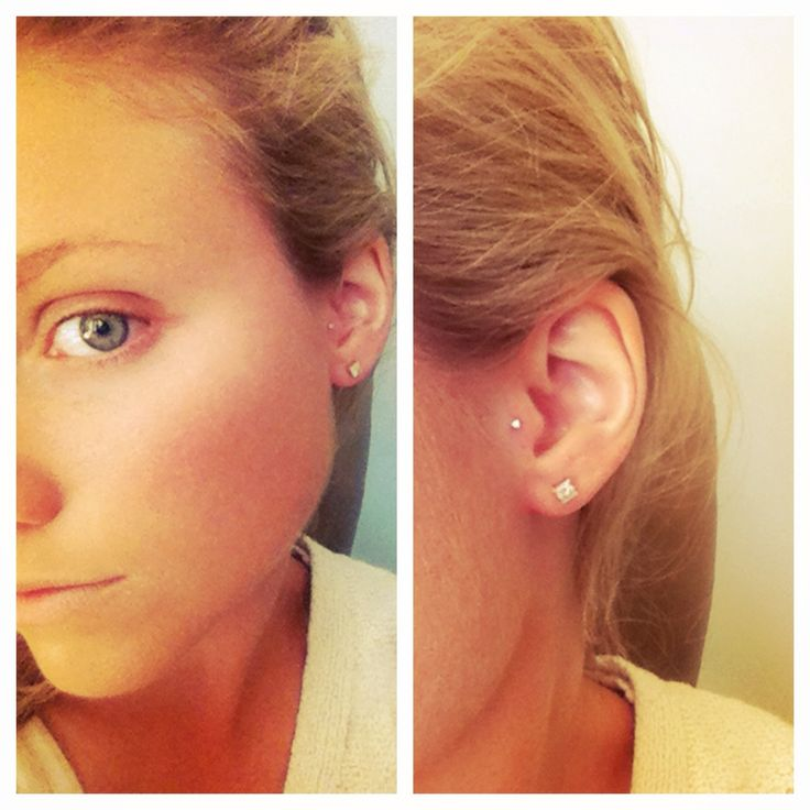 I want my tragus pierced like this.