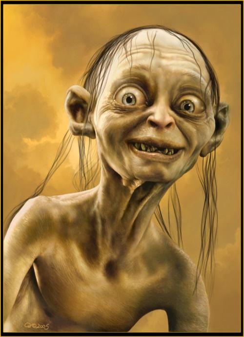 gollum smiling tattoo ideas pinterest lord hobbit