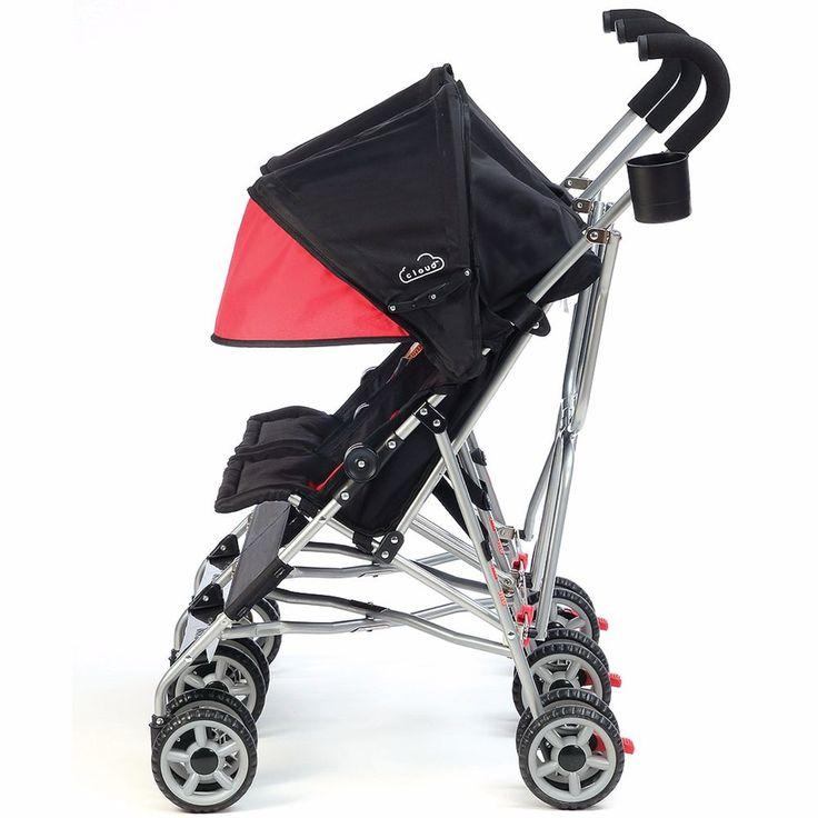 Baby Stroller Jogger Seat Tandem Walk Park Exercise Canopy Hood Wheels 2 #Kolcraft