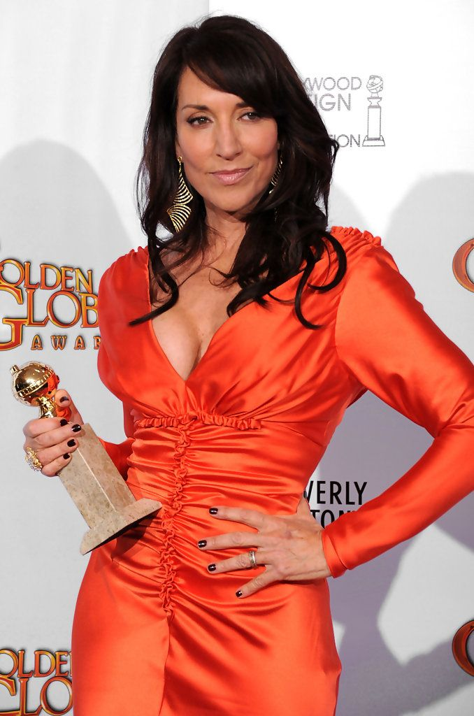 Katey Sagal after reciveing an award