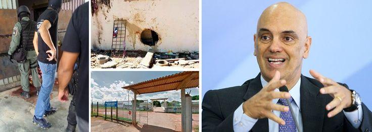 """O ministro da Justiça, Alexandre de Moraes, afirmou nesta sexta-feira que as informações iniciais indicam que as 33 mortes ocorridas em um presídio de Roraima seriam um """"acerto interno"""", descartando uma vingança da facção criminosa Primeiro Comando da Capital (PCC) pelas 56 mortos em uma penitenciária de Manaus no início da semana; """"A informação que me foi passada inicialmente diz que se trata de acerto interno"""", disse Moraes em entrevista coletiva após apresentação do Pla..."""