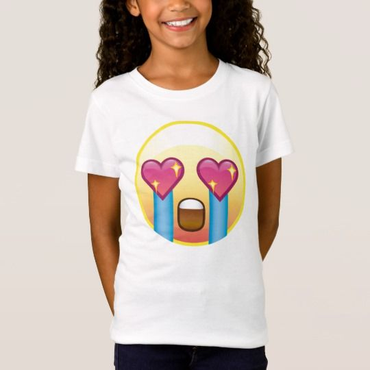 Fangirling Excited Crying Screaming Emoji Shirt | Zazzle ...