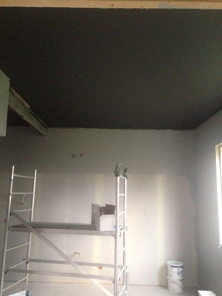 Kitchen - dark ceilings!