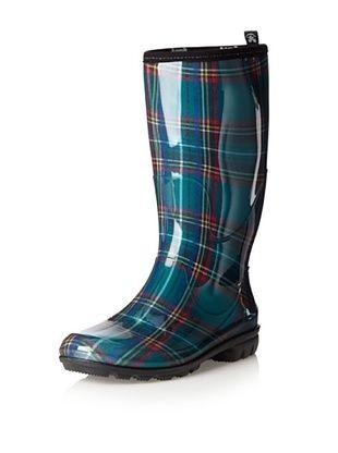 Kamik Women's Christina Rain Boot (Green)