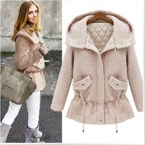 Sweety Winter coat wool overcoat Jacket girl Outwear Size:S,M,L,XL Size choose,pls check the picture