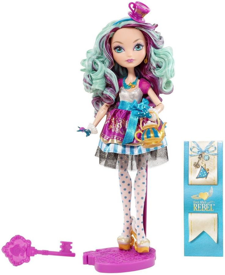 EVER AFTER HIGH Madeline Hatter Doll Royal or Rebel NEW IN BOX