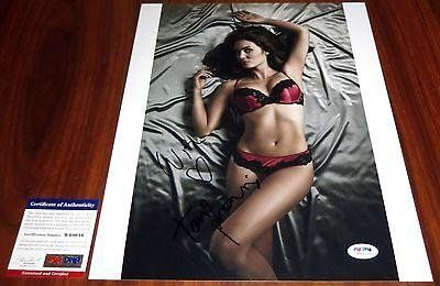 Hot Tanit Phoenix Signed 11x14 Femme Fatales Lost Boys Death Race - PSA/DNA Certified - Autographed Photos * See this great product.