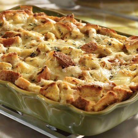 Turkey and Stuffing Casserole (Rachael Ray): Why wait until Thanksgiving to eat turkey and stuffing?