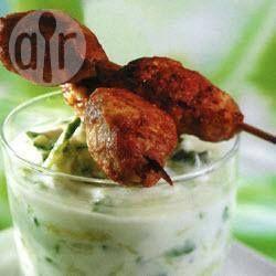Spicy Lamb Kofta Meatballs @ allrecipes.com.au