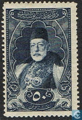 1917 - Turkey - Portrait Sultan Mohammed V
