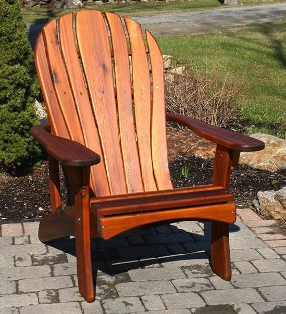 Incredible Santa Fe Adirondack Chair Handmade By Ozark Mountain Download Free Architecture Designs Rallybritishbridgeorg